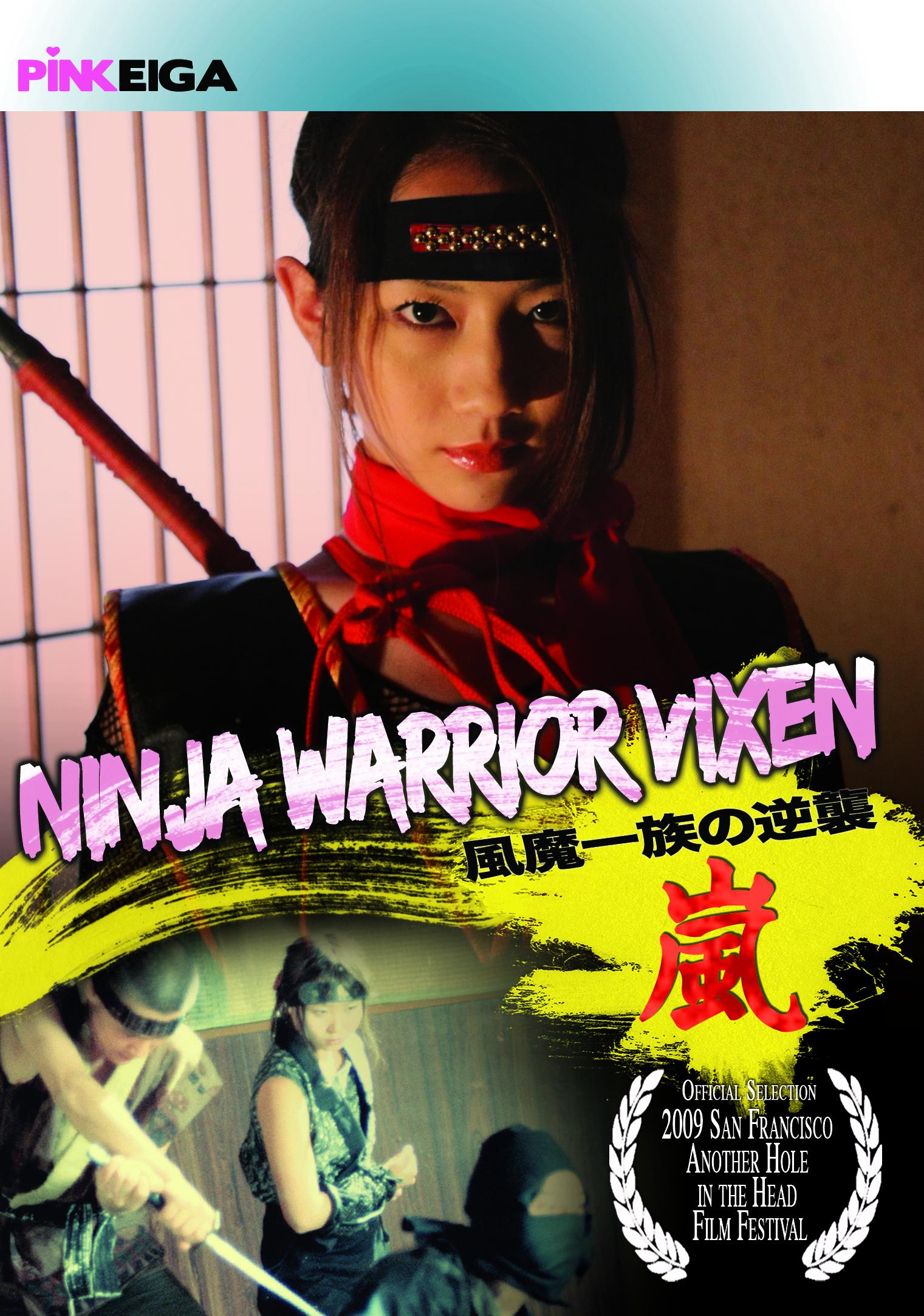 Ninja Pussy Cat  (Ninja Warrior Vixen) DVD